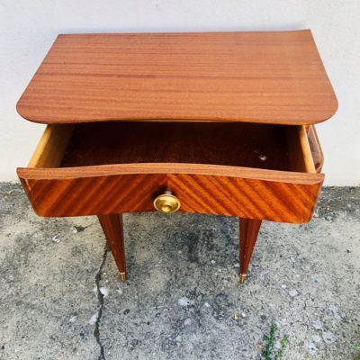 Table de chevet vintage